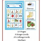 Literacy - Summer Time Bingo (PDF Format)