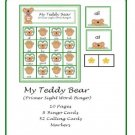 Teacher Resources and Literacy Center - My Teddy Bear Bingo (Primer Sight Word) PDF Format