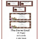 Literacy Unit and Teacher Resources - The Farm (PDF Format)