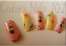 Bee Kawaii Nails