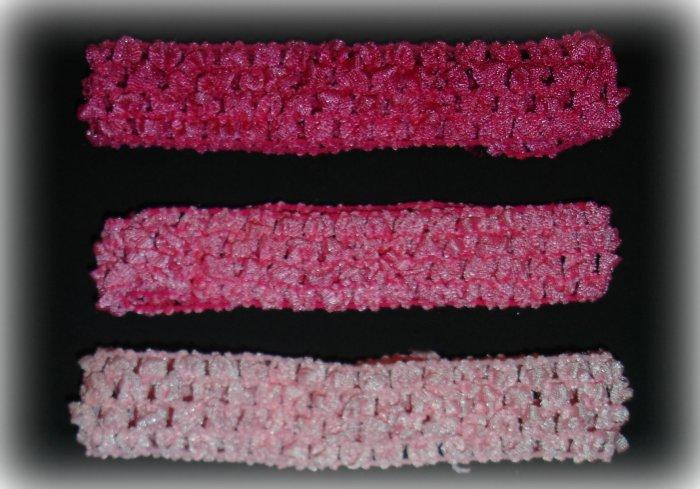 "1"" Crochet Headband"