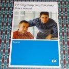 HP 50G Calculator User's Guide Manual HP OEM New