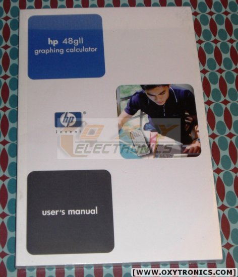 HP 48GII Calculator User's Guide Manual HP OEM New