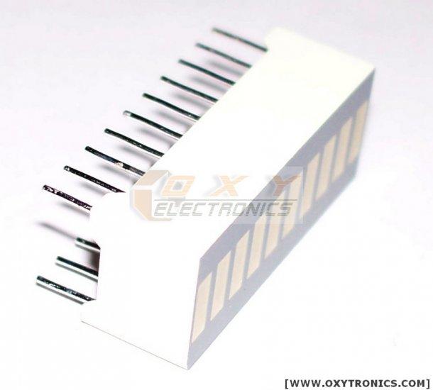 10 SEGMENT LED BARGRAPH Array Brand New Low Price!