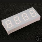 "7 Segment LED DISPLAY 0.40""  *** FOUR DIGITS  ***"