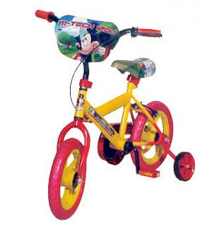 "Mickey Mouse 12"" BMX Bike"