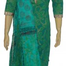 Item#CT1096 Paste and Green color salwar kameez