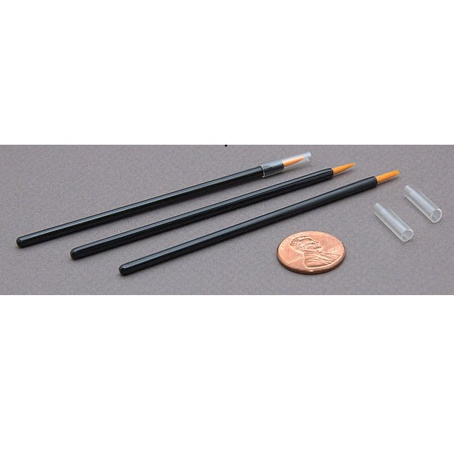 Pack of 100 Disposable Strong Tip Eyeliner Brushes Applicators Cruelty Free