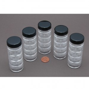 5gr Stackable Jars - 25 pot set 5ml
