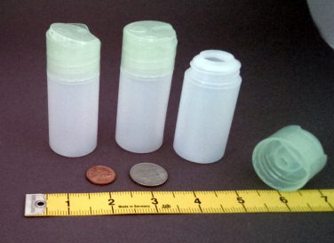 Wholesale 50 Small HDPE Dispensing Bottles ~ BPA-free 1.5oz 45ml