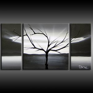 Buy large original art 3 canvas painting