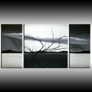 Landscape art original painting on canvas