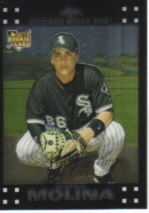 2007 Topps Chrome  #326 Gustavo Molina  RC  White Sox