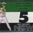 2007 Topps Chrome Generation Now  #364 Nick Swisher   A's