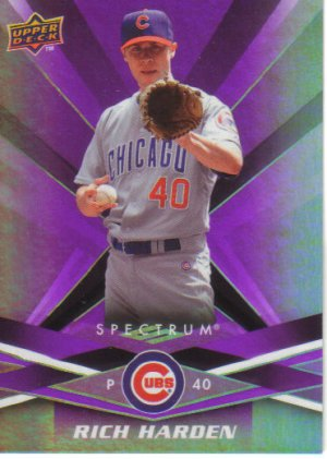 2009 Upper Deck Spectrum  #22 Rich Harden   Cubs