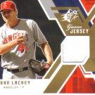 2009 Upper Deck SPx Game Jersey   John Lackey   Angels