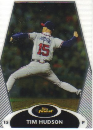 2008 Topps Finest  #36 Tim Hudson   Braves
