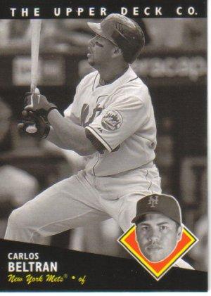 2008 Upper Deck Timeline  #152 Carlos Beltran   Mets