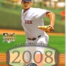 2008 Upper Deck Timeline  #228 Justin Masterson  RC  Red Sox