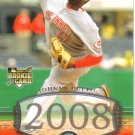 2008 Upper Deck Timeline  #236 Johnny Cueto  RC  Reds