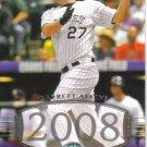 2008 Upper Deck Timeline  #257 Garrett Atkins   Rockies