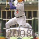 2008 Upper Deck Timeline  #270 Joe Mauer   Twins