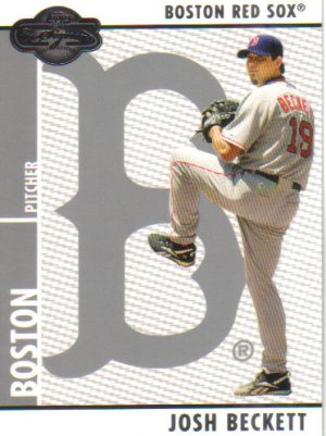 2008 Topps Co-Signers  #14 Josh Beckett   Red Sox