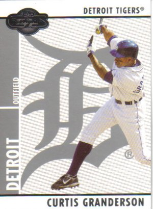 2008 Topps Co-Signers  #33 Curtis Granderson   Tigers