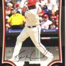 2009 Bowman  #14 Ryan Howard   Phillies