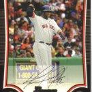 2009 Bowman  #22 David Ortiz   Red Sox