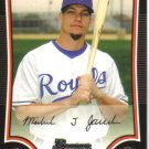 2009 Bowman  #47 Mike Jacobs   Royals
