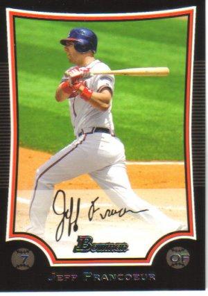 2009 Bowman  #79 Jeff Francoeur   Braves