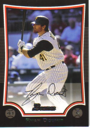2009 Bowman  #81 Ryan Doumit   Pirates