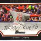 2009 Bowman  #112 Johnny Cueto   Reds