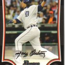 2009 Bowman  #119 Magglio Ordonez   Tigers