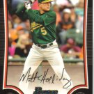 2009 Bowman  #148 Matt Holliday   A's