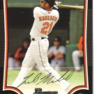 2009 Bowman  #179 Nick Markakis   Orioles