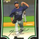 2009 Bowman  #213 David Price  RC  Rays
