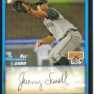 2009 Bowman Prospects  #28 Jeremy Farrell   Pirates
