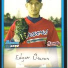 2009 Bowman Prospects  #33 Edgar Osuna   Braves