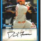 2009 Bowman Prospects  #38 David Freese   Cardinals