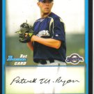 2009 Bowman Prospects  #50 Patrick Ryan   Brewers
