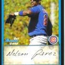 2009 Bowman Prospects  #55 Nelson Perez   Cubs