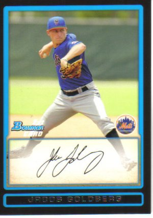 2009 Bowman Prospects  #65 Jacob Goldberg   Mets