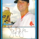2009 Bowman Prospects  #83 Seth Garrison   Red Sox