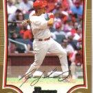 2009 Bowman Gold  #37 Ryan Ludwick   Cardinals