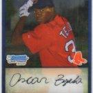2009 Bowman Prospects Chrome  #2 Oscar Tejeda   Red Sox