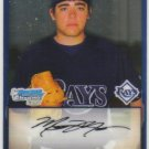 2009 Bowman Prospects Chrome  #7 Matthew Moore   Rays