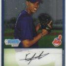 2009 Bowman Prospects Chrome  #9 Kelvin De La Cruz   Indians