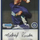 2009 Bowman Prospects Chrome  #17 Michael Pineda   Mariners